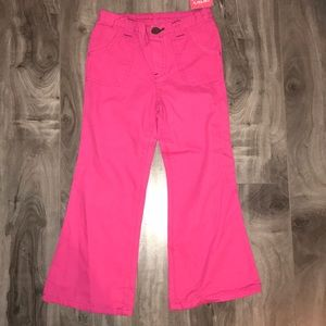 Carter's hot pink girls long pants